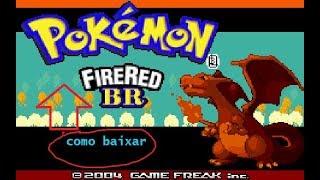 como baixar Pokemon Fire Red BR para pc
