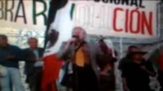 Aspectos de las marchas del SME tomando la Ciudad de México 3de3
