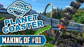 Das MONORAIL Projekt - PLANET COASTER - MAKING OF #01