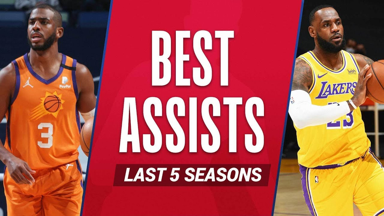 LeBron James & Chris Paul's BEST ASSISTS From The Last 5 Seasons!