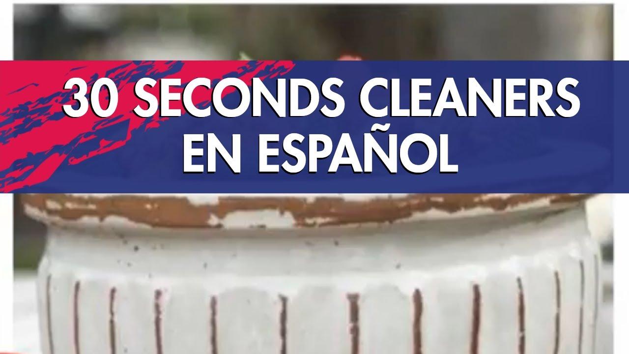 30 seconds outdoor cleaner en español youtube