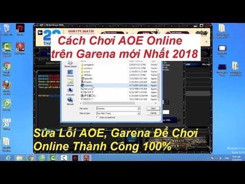 Cách Chơi AOE Online Trên Garena Mới Nhất 2018