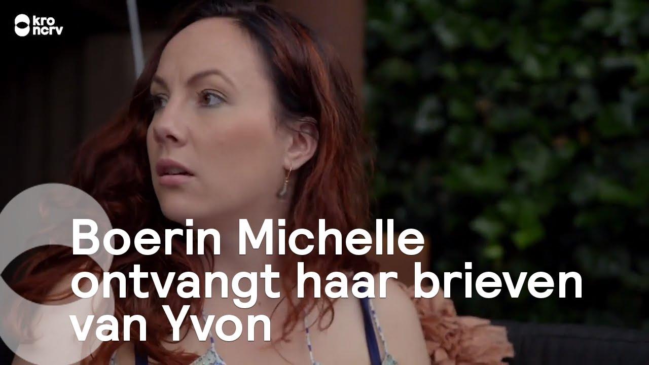 Boerin Michelle ontvangt haar brieven van Yvon   Boer zoekt Vrouw - YouTube