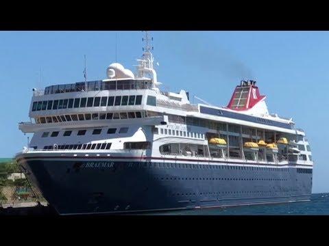 MS Braemar cruise ship denied entry in several Caribbean countries