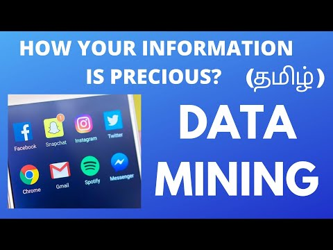 DATA MINING|How Your Information Is Precious?|Tamil