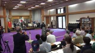 第14回瀬戸神社居合道奉納演武  2015.5.16 國際抜刀道連盟 鶴誠会