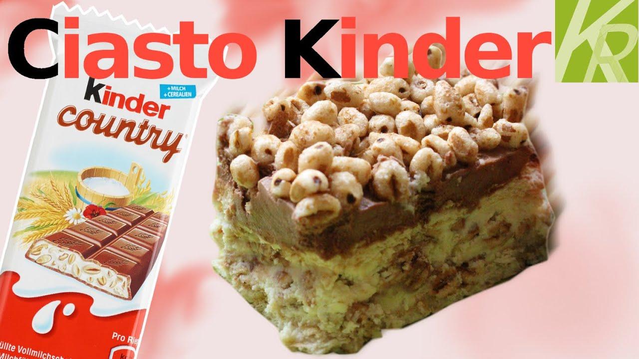 Ciasto Kinder Country Przepis Test Uliczny Kr