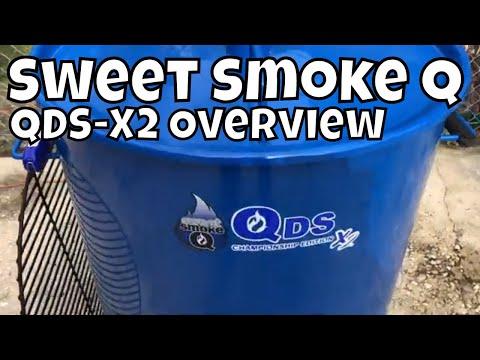 Sweet Smoke Q QDS-X2 Overview   Drum Smoker