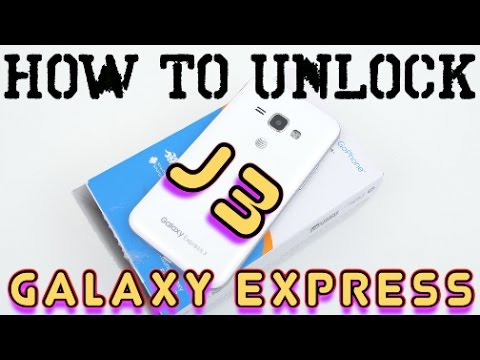 How to Unlock Samsung Galaxy Express 3 & Galaxy Express Prime ALL CARRIERS (AT&T, Cricket, ETC)
