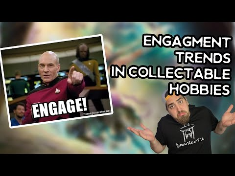 What does engagement have to do with Collectible hobbies? - Flesh and Blood TCG MTG Pokemon Metazoo