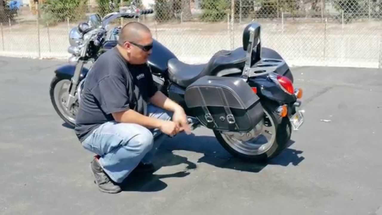 Kawasaki Vulcan Mean Streak motorcycle saddlebags Review