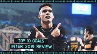 INTER TOP 10 GOALS | 2019 REVIEW feat. Romelu Lukaku, Lautaro Martinez, Marcelo Brozovic... ⚽⚫🔵