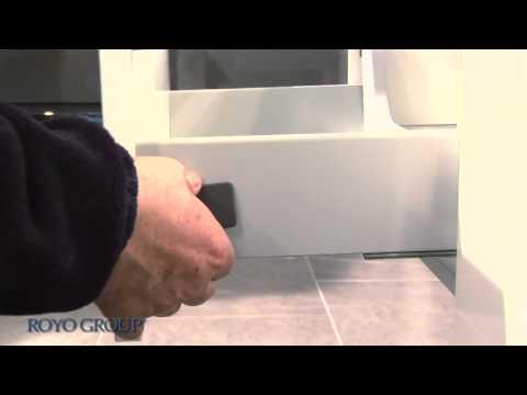 tiroir metallique avec glissieres g2 enlever et installer le tiroir