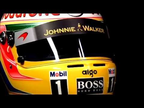Lewis Hamilton Crash Helmet In Detail SAP Commercial - 2011 New Carjam Radio