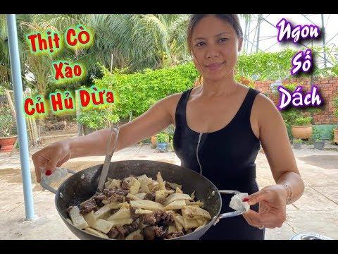 Đặc Sản Cò Xào Củ Hủ Dừa 🌴 Ngọt Lịm. 👍(Cuộc Sống Người Việt Ở Mỹ)#79