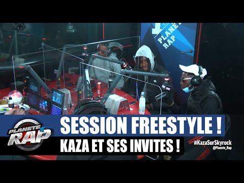 Youtube: Kaza – Session freestyle avec Kepler, Dyraan, Negredo, Gringo, Orphée La Fine & Rence T #PlanèteRap