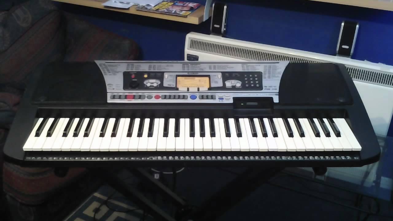 Yamaha psr 350 keyboard demonstration songs part 4 4 youtube for Yamaha keyboard parts