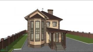 Типовой проект семейного двухэтажного жилого дома B-090-ТП(, 2016-10-24T15:17:55.000Z)