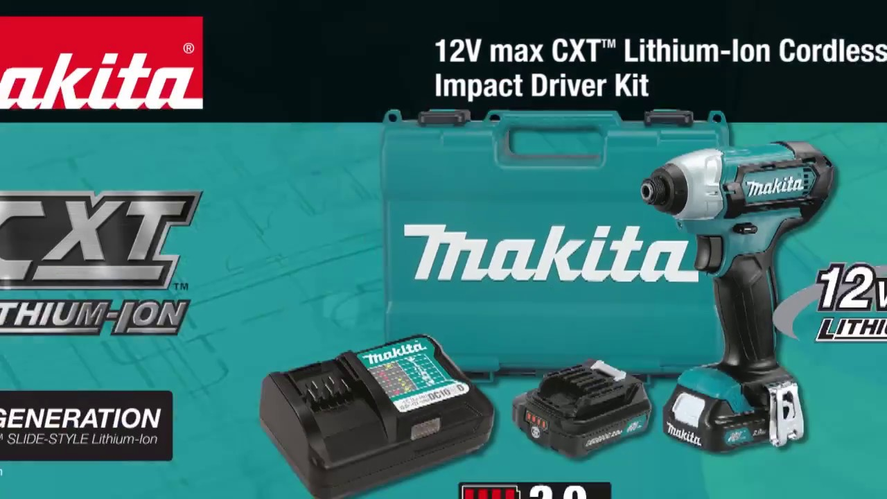 Kd 1141 Impact Driver Makita Cordless ...