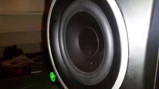 mackie mr5 mk3 bass test
