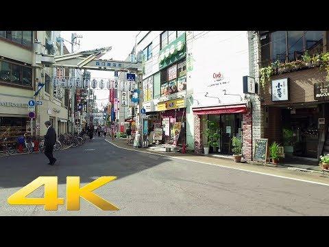 Walking around Gakugeidaigaku, TokyoLong Take東京・学芸大学駅 4K