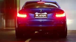 beast mode bmw f22 m235i w armytrix super sport performance exhaust road sounds