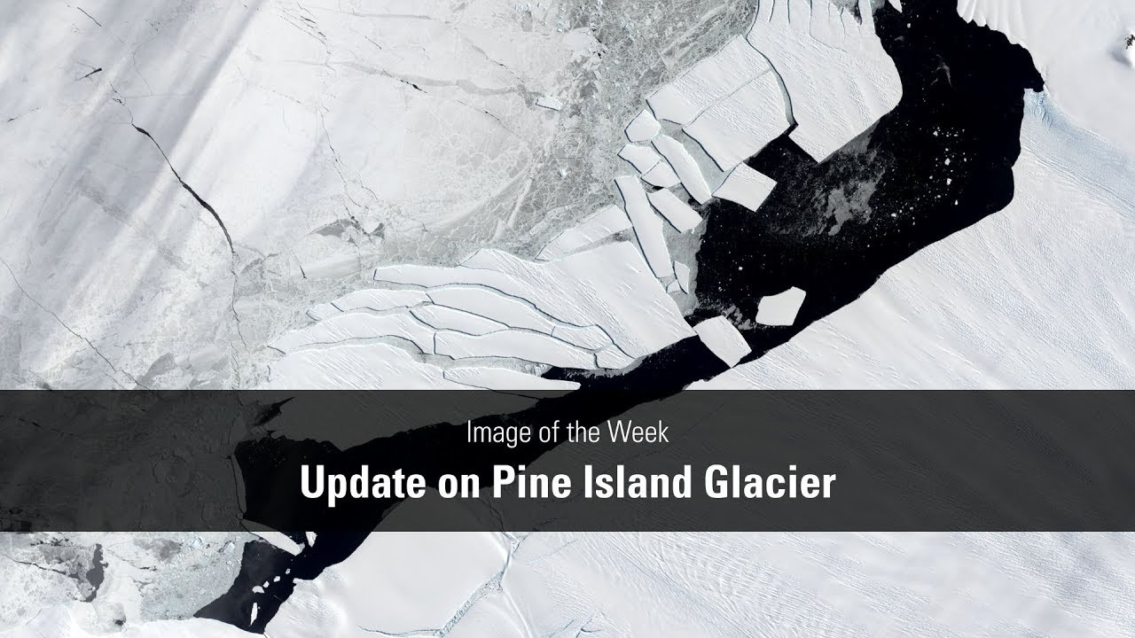 Update on Pine Island Glacier