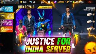 Justice For Indian Server P-2 😭😥 - para SAMSUNG A3,A5,A6,A7,J2,J5,J7,S5,S6,S7,S9,A10,A20,A30,A50,A70