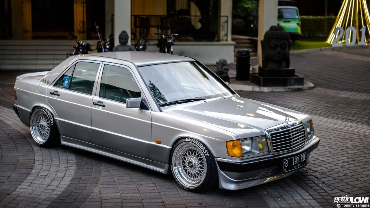 mercedes benz w201 190e amg tuning stance youtube. Black Bedroom Furniture Sets. Home Design Ideas