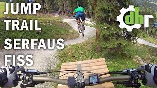 bikepark serfaus fiss ladis jump line follow up by downhill rangers com