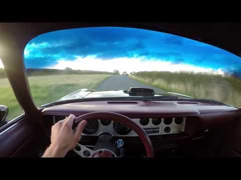 1973 Pontiac Firebird Trans Am 455 7.5 V8  - POV TEST DRIVE