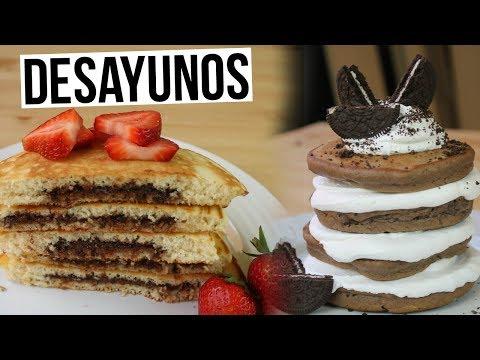 5 Hot Cakes Para Que Desayunes en Verano!  | RebeO