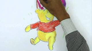 How to Draw a Party Pooh