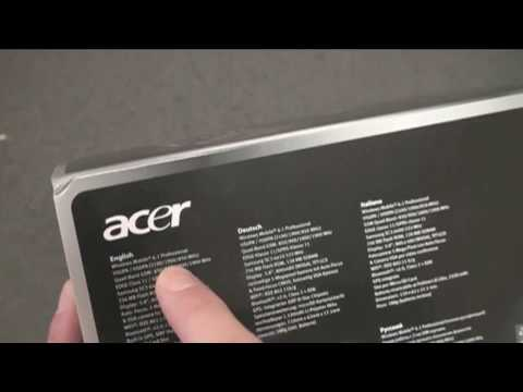 ACER Tempo M900 Unboxing