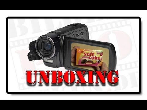 Medion LIFE P47030 Full HD Camcorder UNBOXING MD 86641