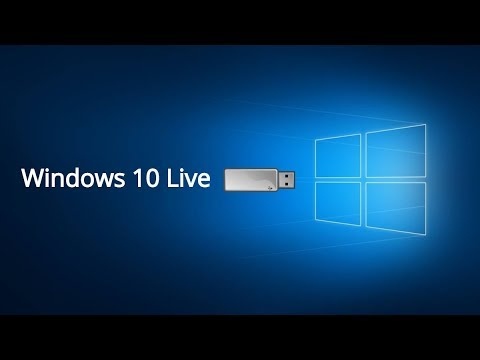 How To Create Windows 10 Live Bootable USB Drive
