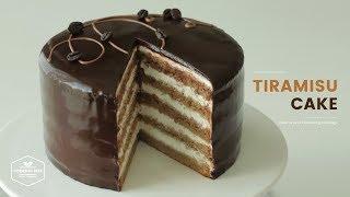 티라미수 케이크 만들기 : Tiramisu Cake Recipe : ティラミスケーキ  Cooking tree