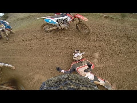 Motocross Crash   Knocked Unconscious