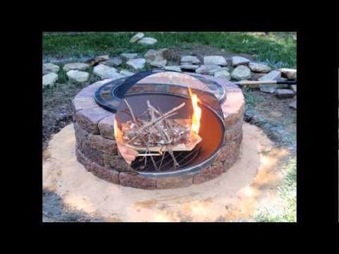 DIY-outdoor-brick-fire-pit-kits-design-with-grill-in-the-backyard-house-design-ideas
