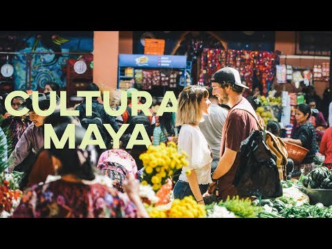 Viviendo la CULTURA MAYA | Chichicastenango Guatemala