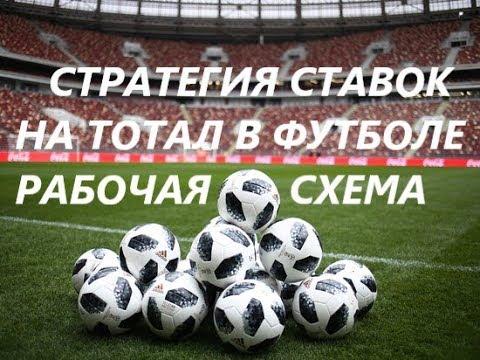 тоталы футбол стратегии на ставок