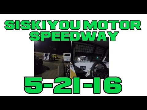 Siskiyou Motor Speedway 5-21-16