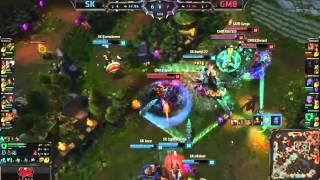 Tiêu điểm LCS Châu Âu 2014 Mùa Xuân Tuần 10 Ngày 2 - SK Gaming vs Gambit (remake)