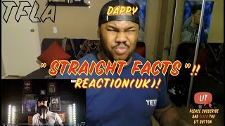Dappy - Straight Facts (Official Video) | (THATFIRE LA) Reaction