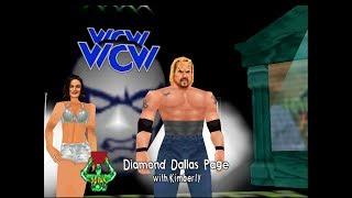 WCW/nWo Revenge - Diamond Dallas Page - Television Championship (Hard) (1080p/60fps)