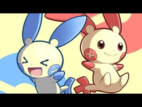 Focus Pokemon Negapi Minun Posipi Plusle
