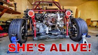 DF Goblin Kit Car Build - Part 6 (SHE'S ALIVE!)