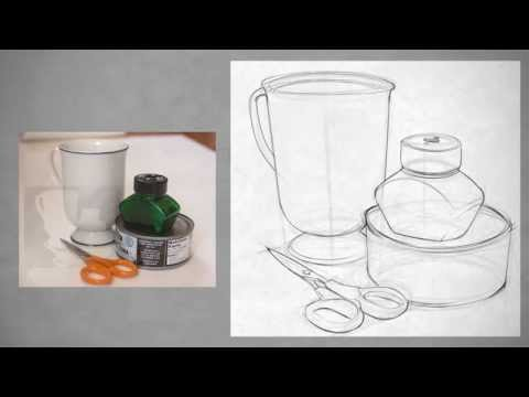 Drawing Shape Simple Still Life Youtube
