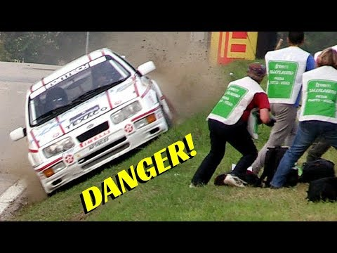 Rally Legend San Marino 2017 - Special Stage Le Tane - Day 2 - Jumps, Flames & Close Call!