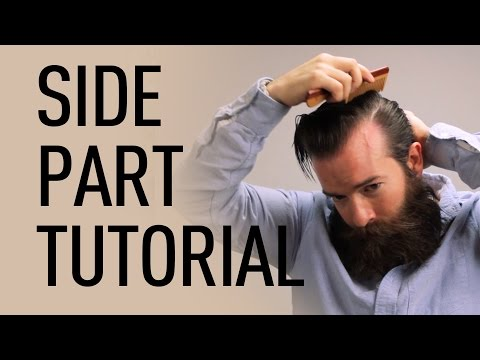 Thumbnail: Side Parted Men's Hairstyle | Jeff Buoncristiano